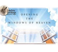 Opening Windows of Heaven