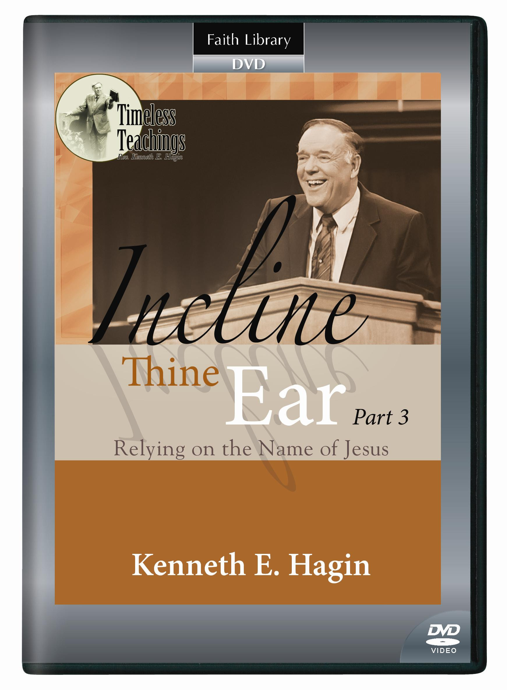 Incline Thine Ear - Part 3 (1 DVD)
