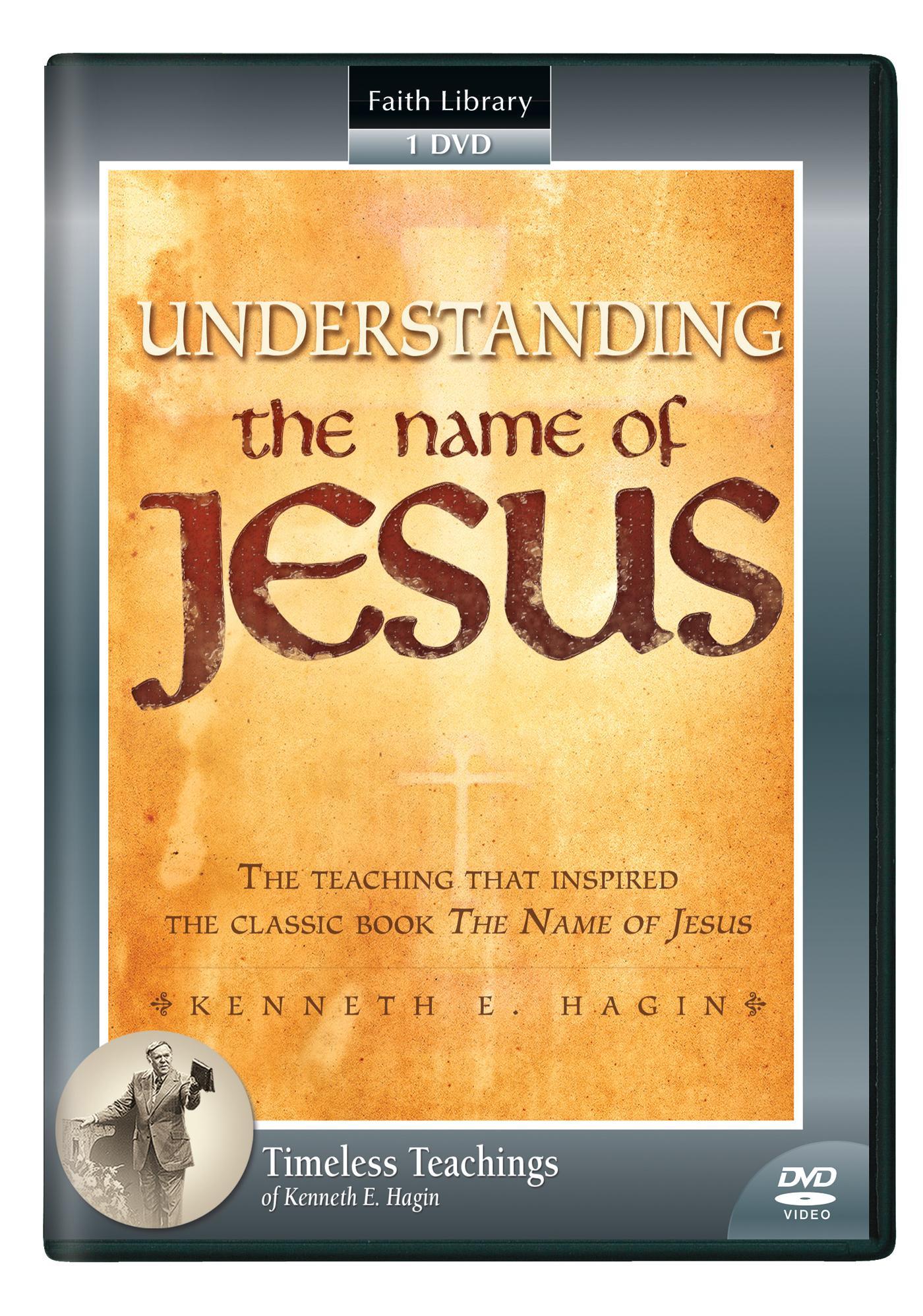 Understanding the Name of Jesus (1 DVD)