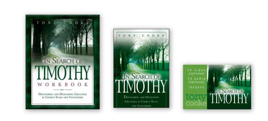 In Search of Timothy Complete Leadership Training Course (Books and USB Card)