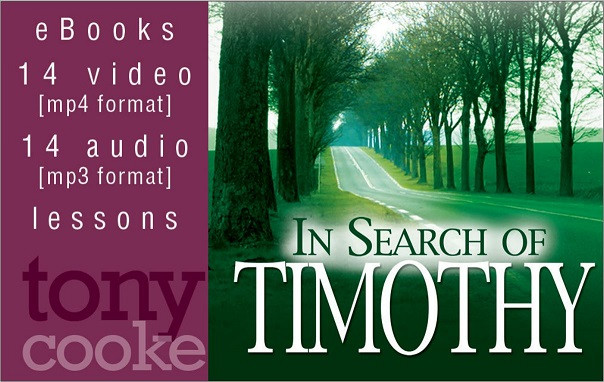In Search of Timothy Complete Leadership Training Course (USB Card)