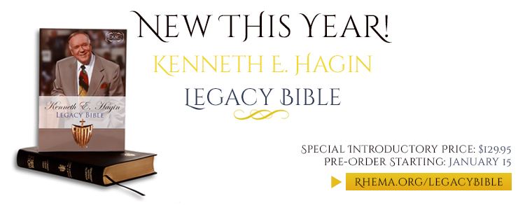 Hagin Legacy Bible Front Banner