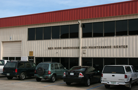 Red Nunn Warehouse and Maintenance Center