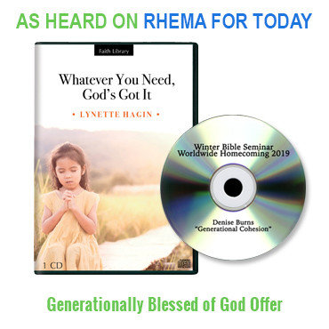 Generationally Blessed of God Package (2 CDs)