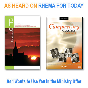 God Wants to Use You in the Ministry Offer (4 CDs, 1 book)