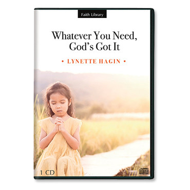 Whatever You Need, God's Got It (1 CD)