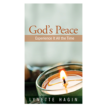 God's Peace: Experience It All the Time (Book)