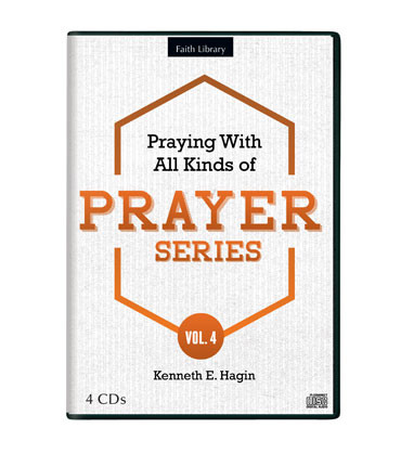 Praying With All Kinds of Prayer Series—Volume 4 (4 CDs)