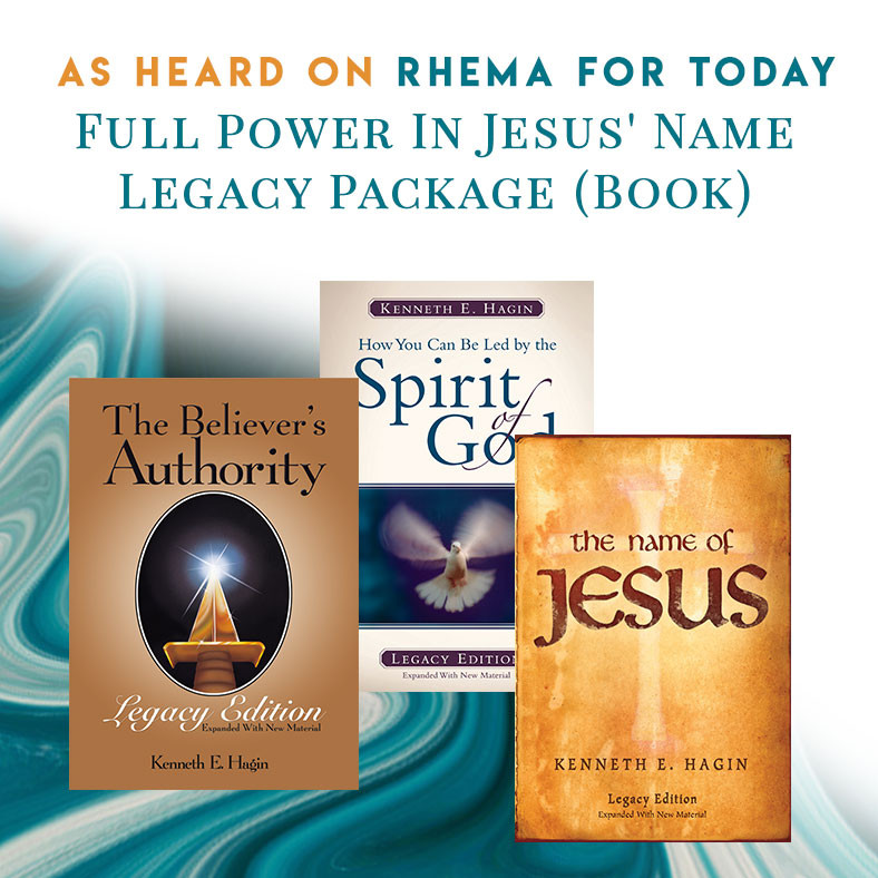 Full Power in Jesus' Name—Legacy Package (print)