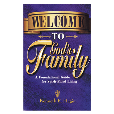 Welcome To God's Family (Book)