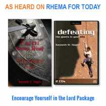 Encourage Yourself in The Lord Package (2 CDs, 1 book)