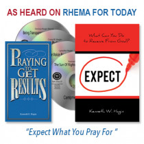 Expect What You Pray For Package (4 CDs, 1 Book, 1 Slimline)