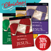 Doing the Works of Jesus CD Package (14 CDs)
