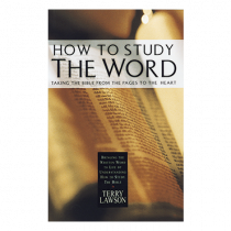 How To Study The Word (Book)