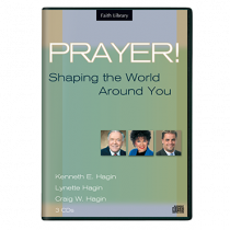 Prayer! Shaping The World Around You (3 CDs)