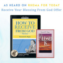 Receive Your Blessing From God