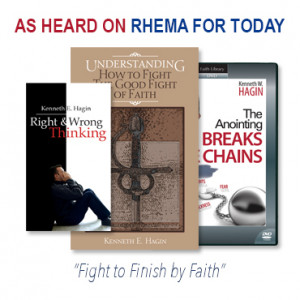 Fight to Finish by Faith (1 DVD, 1 book, 1 slimline book)