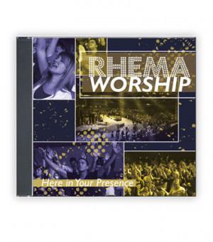 RHEMA Worship: Here in Your Presence (1 Music CD)
