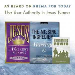 Use Your Authority in Jesus' Name