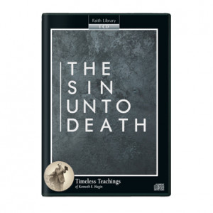 The Sin Unto Death (1 CD)
