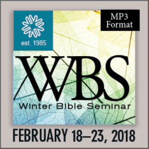 Dan Taylor - Submission and Authority Friday, February 23, 2018 8:30 a.m. (MP3)