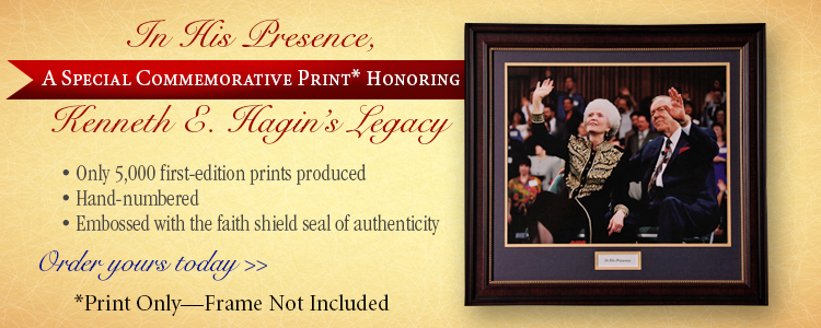 Kenneth E Hagin Print